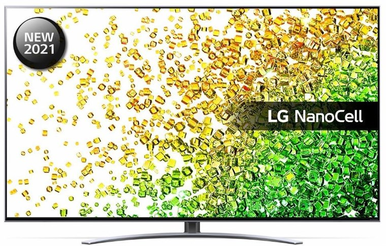 "LG NanoCell NANO88 50"" 4K Smart TV with Dolby Atmos & Vision IQ, 50NANO886PB"