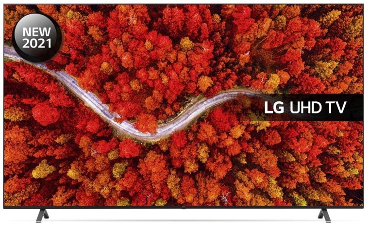 "86UP80006LA, LG UHD UP80 86"" 4K Smart TV with Freeview Play & voice control command"