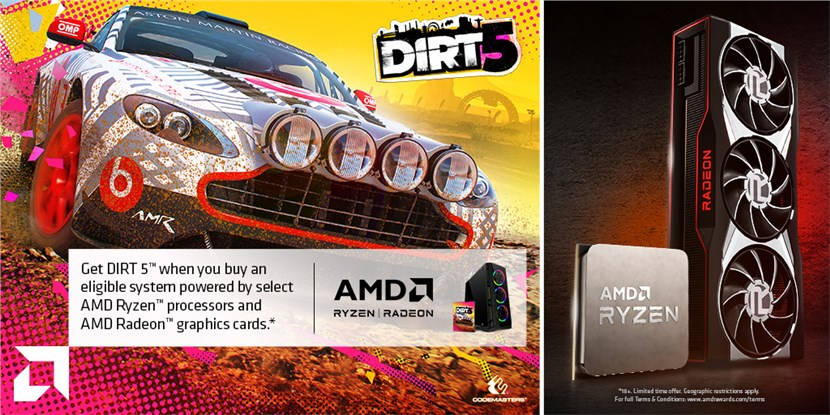 + Dirt 5 Game with CPU & GPU
