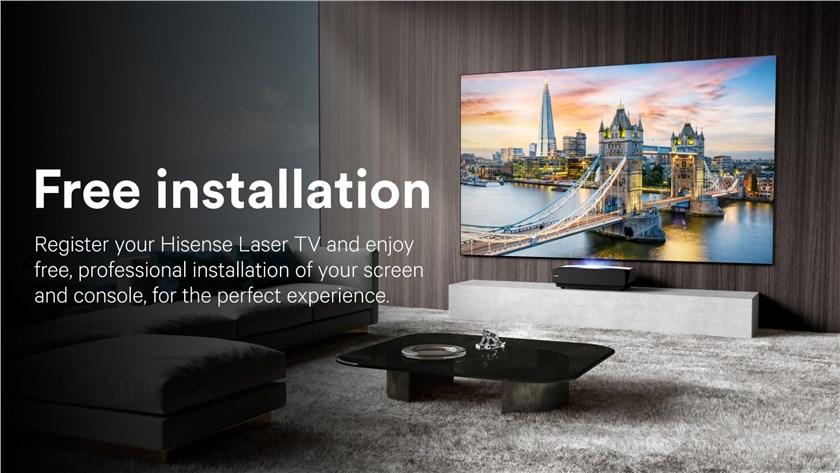Free Professional Installation