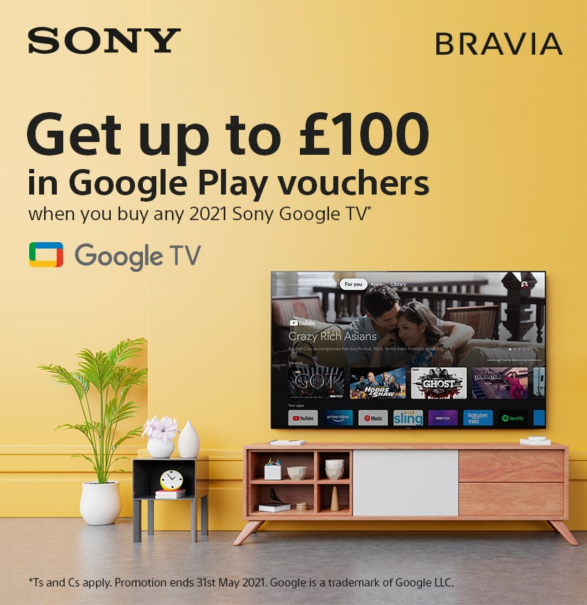 Up to £100 Google Play Voucher