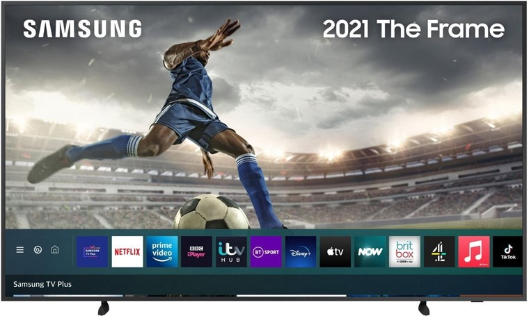 "QE75LS03AAUXXU, Samsung 2021 75"" The Frame Art Mode QLED 4K HDR Smart TV"