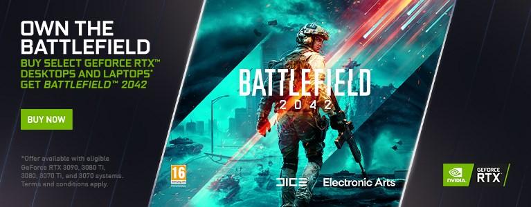 Includes Battlefield 2042!
