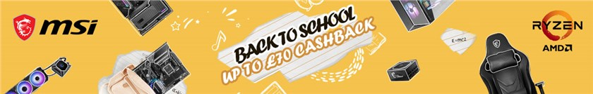 + Up to £70 Cashback