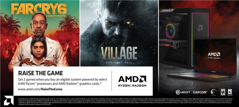 + AMD Raise The Game Bundle