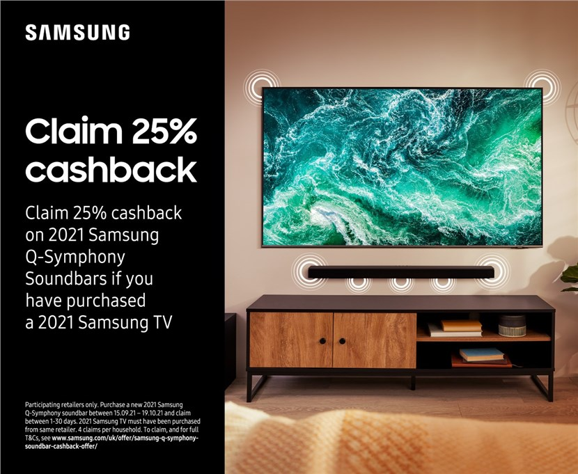 Up to 50% Cashback WBW Samsung