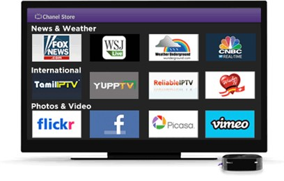 Roku LT Streaming Player, Streaming Made Simple, Sets up in minutes with built-in wireless, Works with virtually any TV - No PC needed, Plays high-definition video (720p)