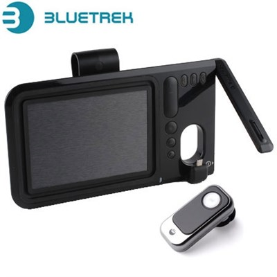 Bluetrek Surface Sound Duo Car Kit And Tattoo Bluetooth Headset