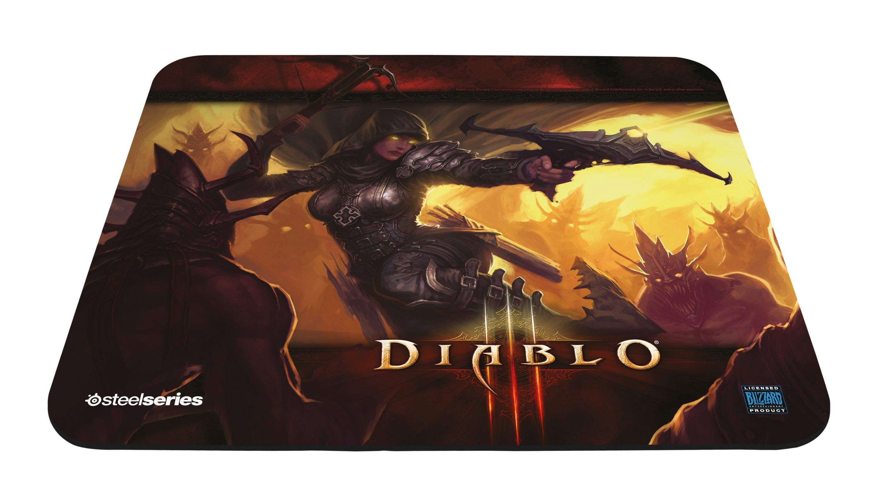 SteelSeries Qck Diablo III Demon Hunter Edition