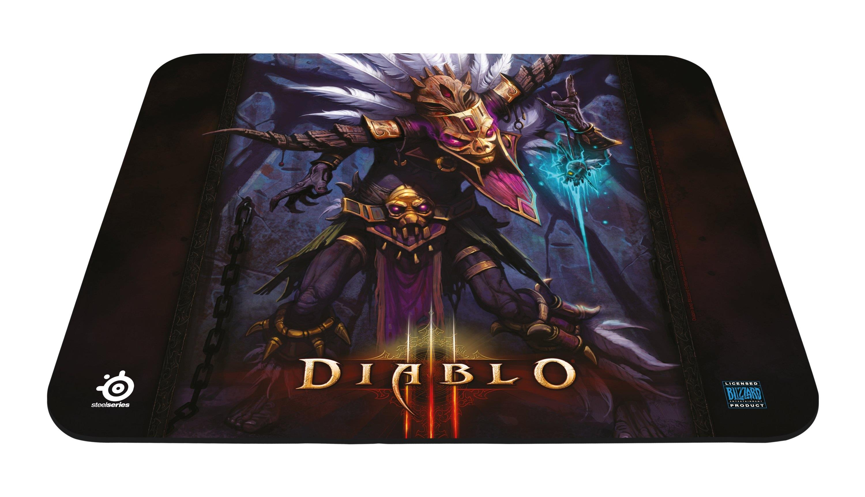 SteelSeries Qck Diablo III Witch Doctor Edition