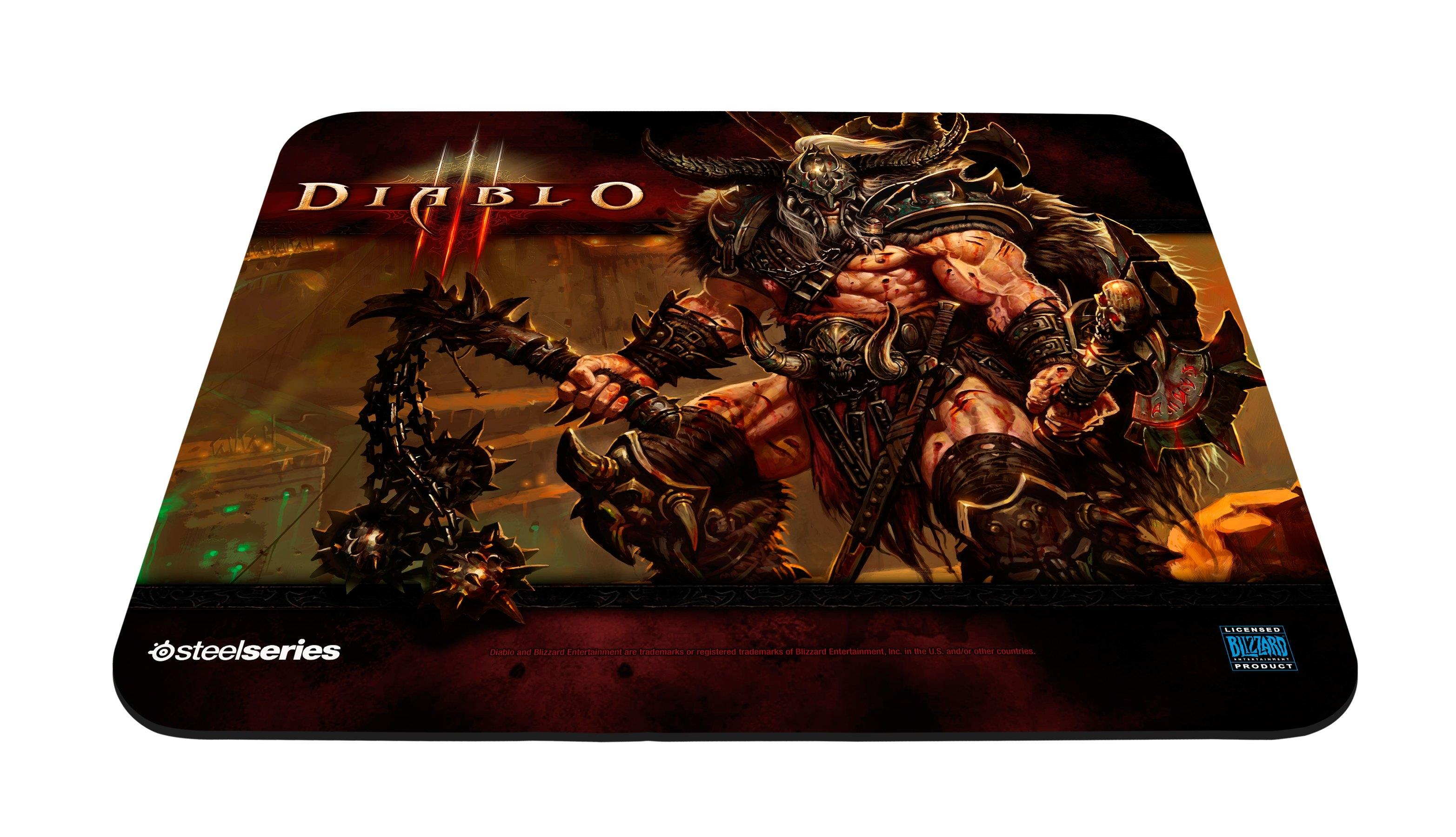SteelSeries Qck Diablo III Barbarian Edition