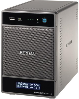 Netgear RND4210 ReadyNAS NV+ v2 Gigabit Network Storage Server