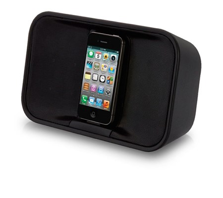 TDK App-Enhanced Portable Stereo Speaker for iPod / iPhone (Black)