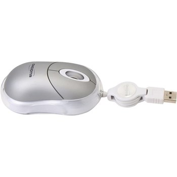Dicota Spirit Silver Wired Optical Mouse