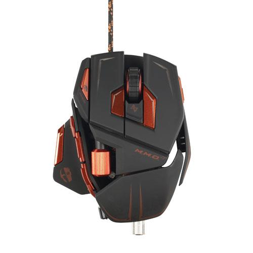 Mad Catz M.M.O.7 Gaming Mouse, 78 Programmable Commands