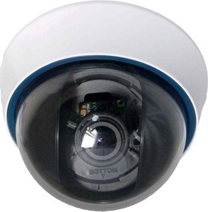 DTV-COL/VF/650 650TVL CCTV Varifocal Sony Effio Chipset 3 Axis Dome Camera