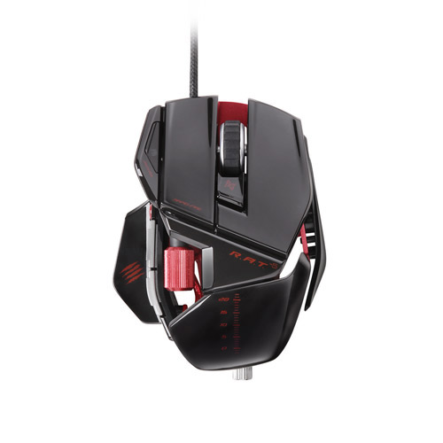 Amazing Price for a Gloss Black Mad Catz Cyborg R.A.T. 5 Gaming Mouse