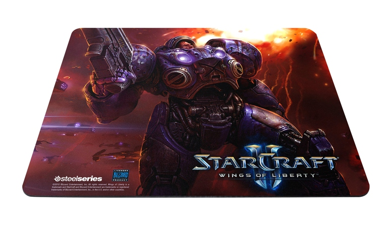 SteelSeries QcK StarCraft II Limited Edition Surface (Tychus Findlay)