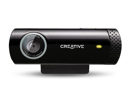 Creative Live! Cam Chat HD 1 Megapixel Webcam