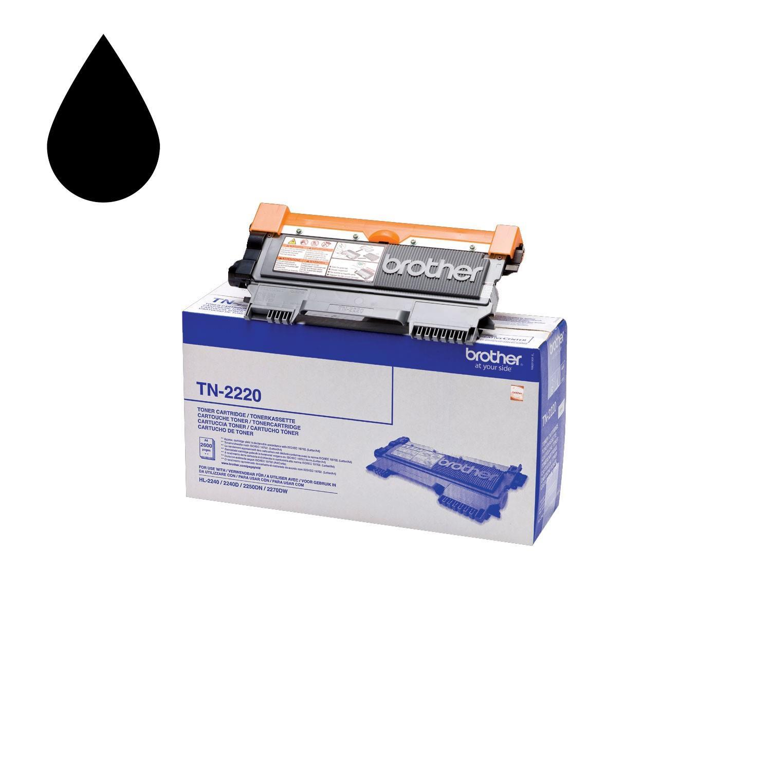 Brother TN2220 Black Toner Cartridge