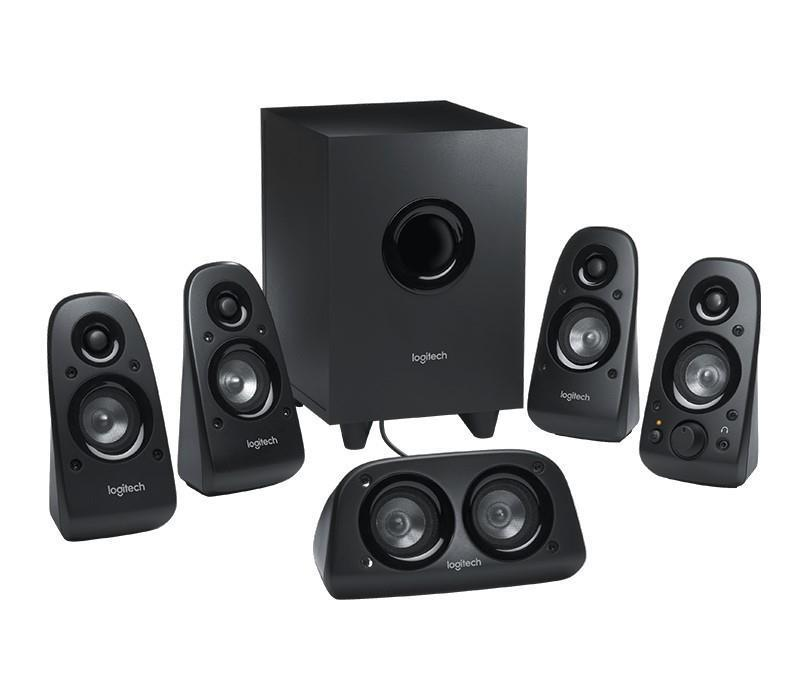 Logitech Z-506 5.1 Multi-Media PC Surround Sound Speakers