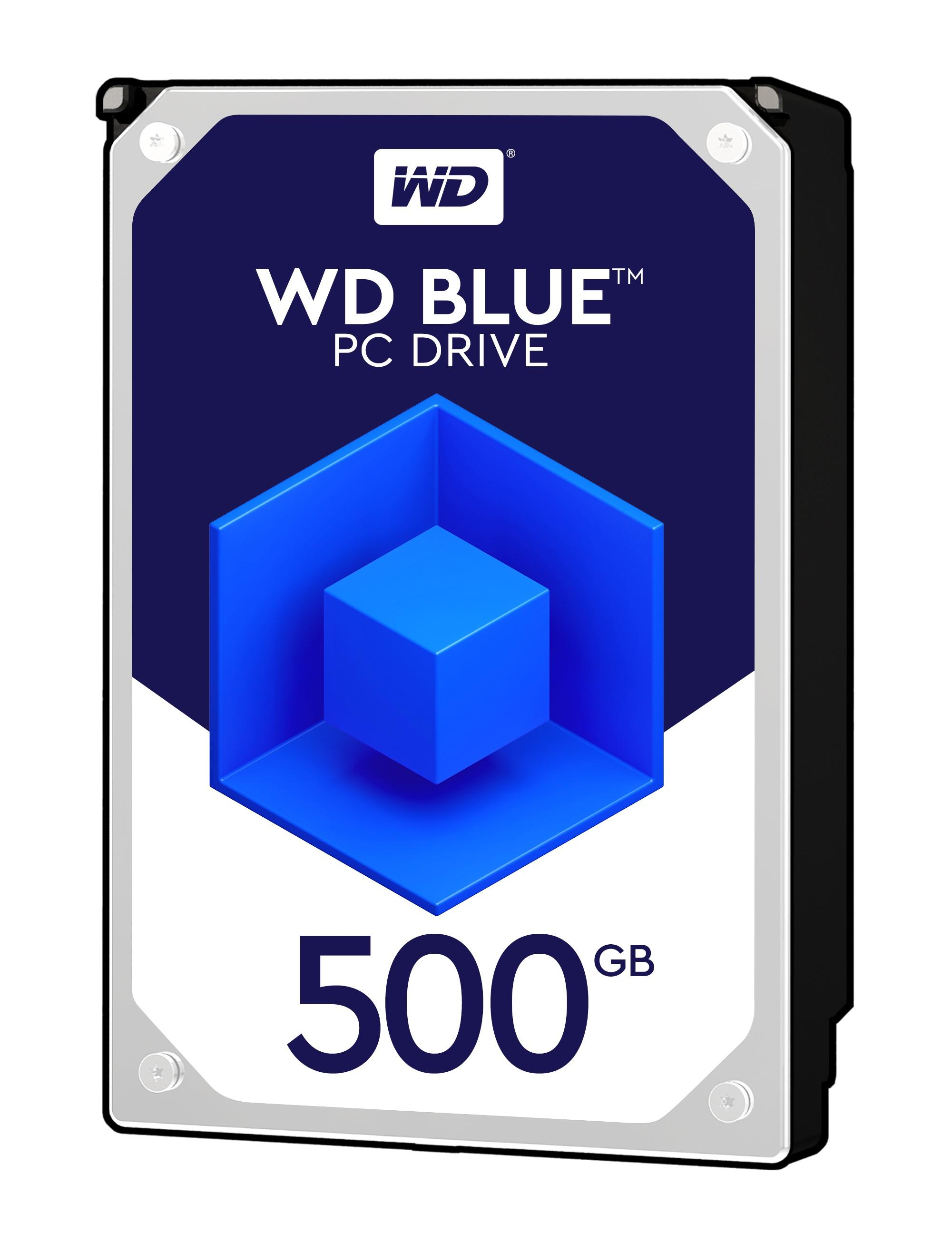 "Western Digital Caviar Blue 500GB 3.5"" Desktop SATA Hard Drive"
