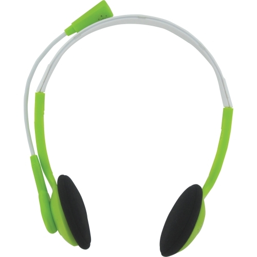 Trust Primo 17386 Wired Stereo Headset - Over-the-head - Semi-open - Green