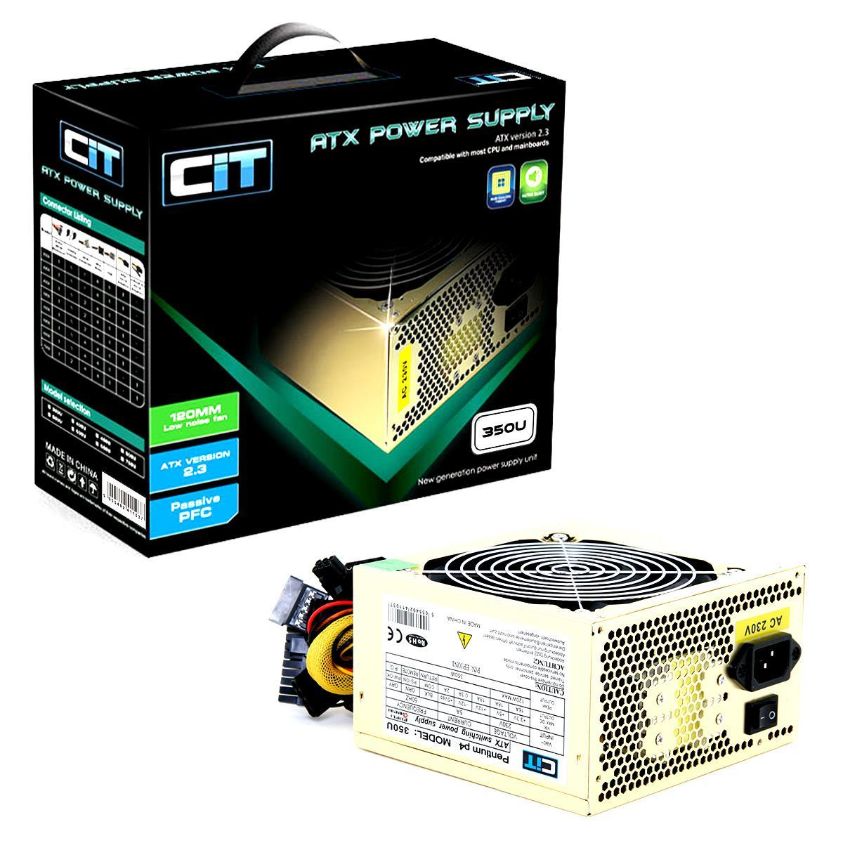 Cit 350W Gold Edition PSU