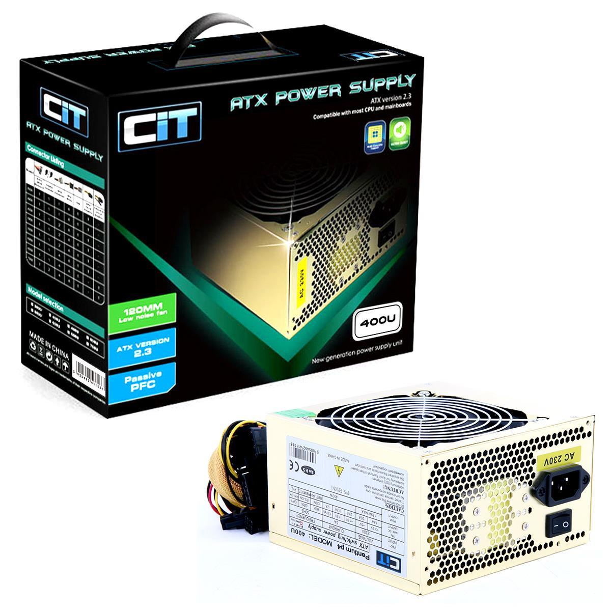 Cit 400W Gold Edition PSU