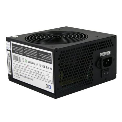 450W CiT Black Edition PSU with 12cm Fan SATA Power Supply