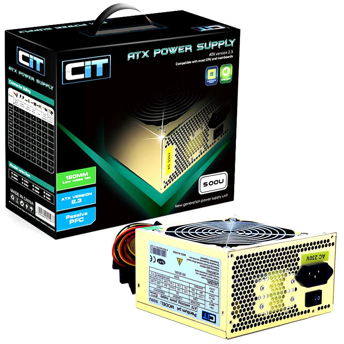 Cit 500W Gold Edition PSU