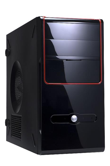 Inwin Z637 Micro ATX Screwless Black Case No PSU