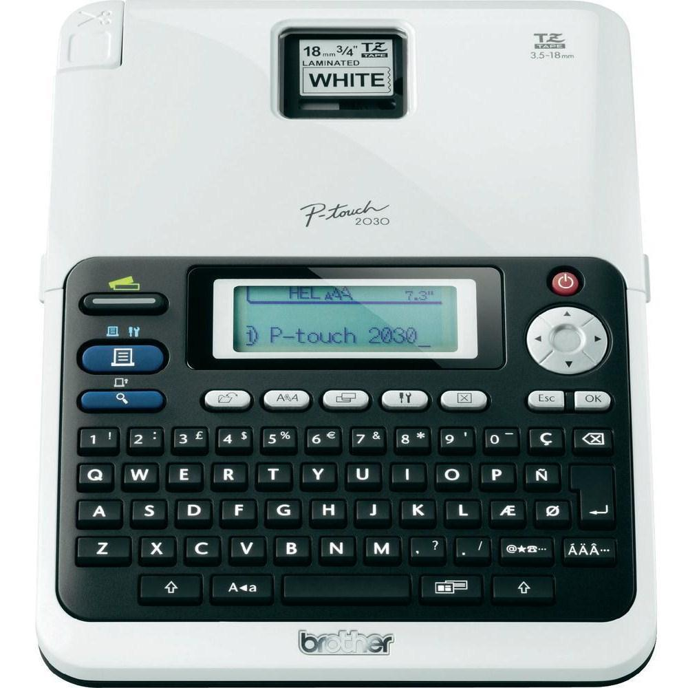 Brother P-Touch 2030VP Thermal Desktop Label Printer