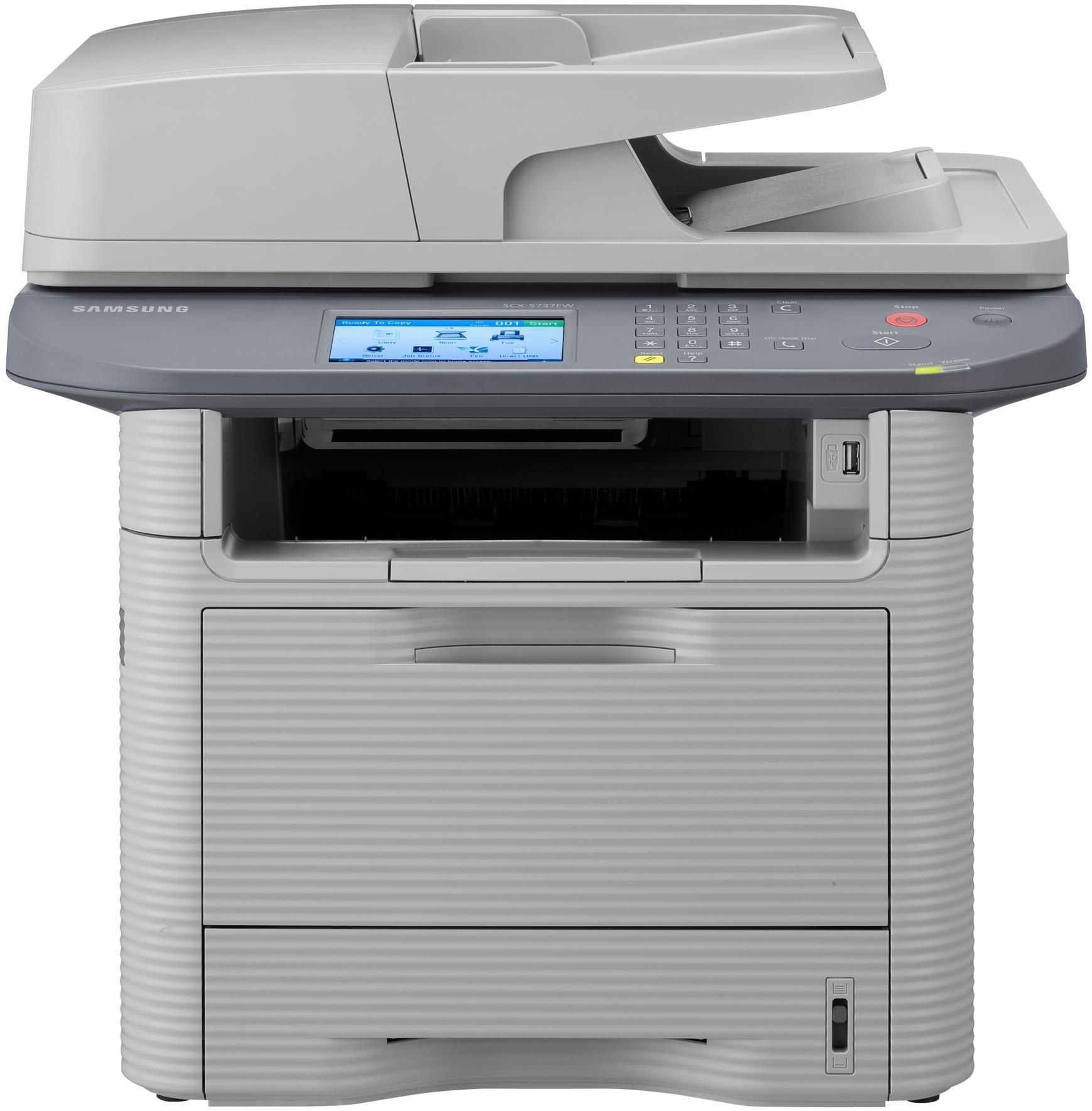 Samsung SCX-5737FW Mono Laser Wireless A4 USB Multi-Function Printer Scanner