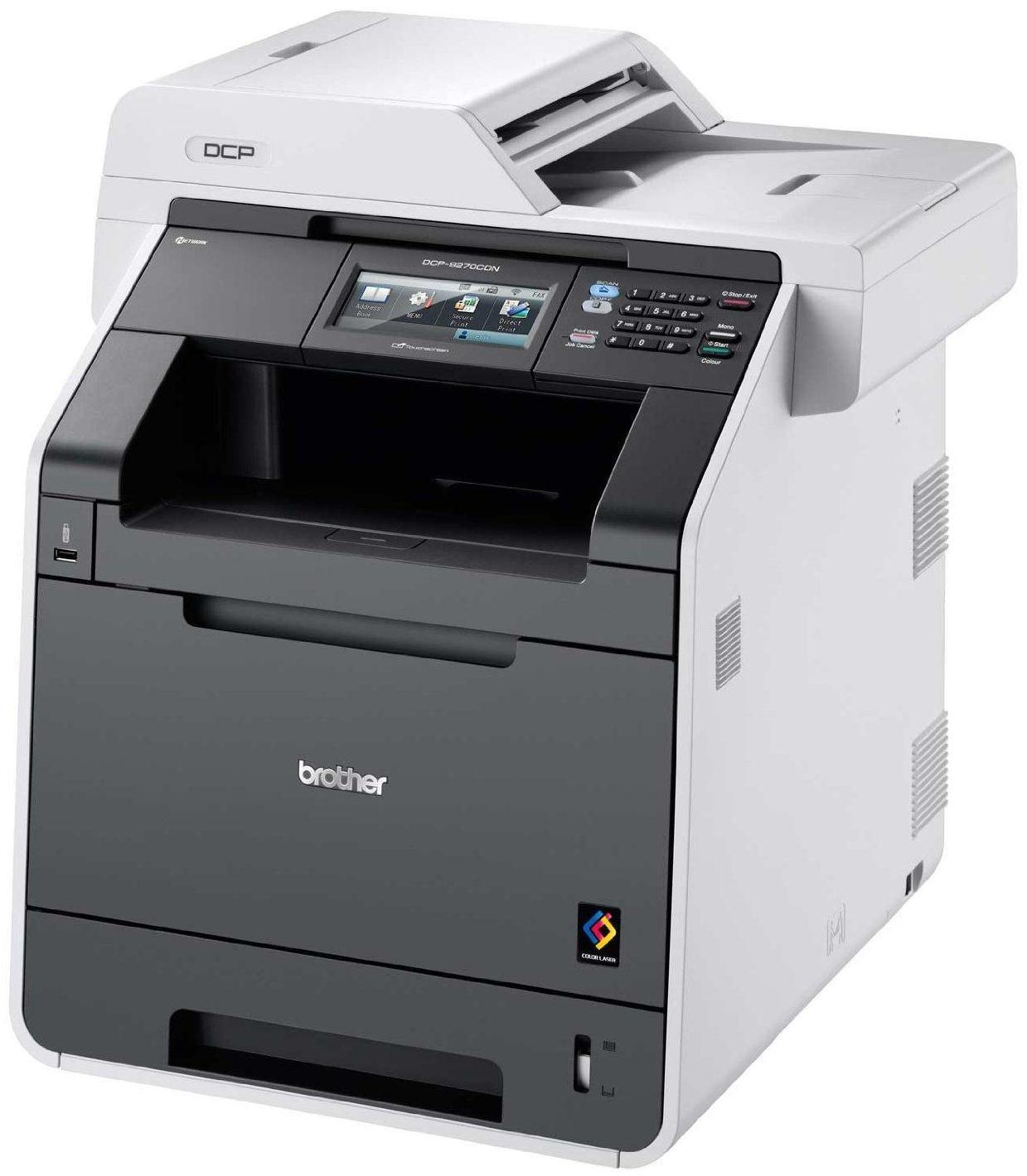 Brother DCP-9270CDN A4 Multifunction Network Ready Colour Laser Printer