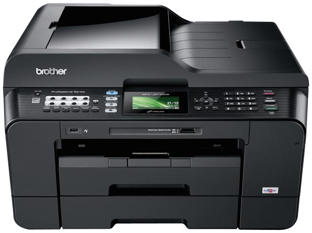 Brother MFC-6710DW Duplex Wireless A3 Colour Inkjet Multifunction Printer