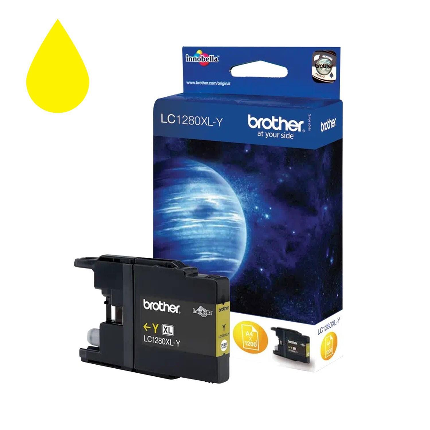 Brother LC1280XLY Ink Cartridge - Yellow