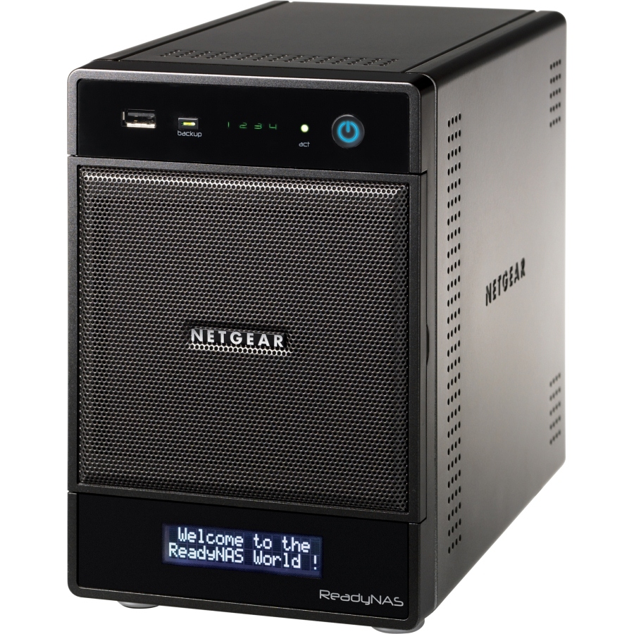 Netgear RNDP4410 ReadyNAS Pro 4 Gigabit Network Storage Server