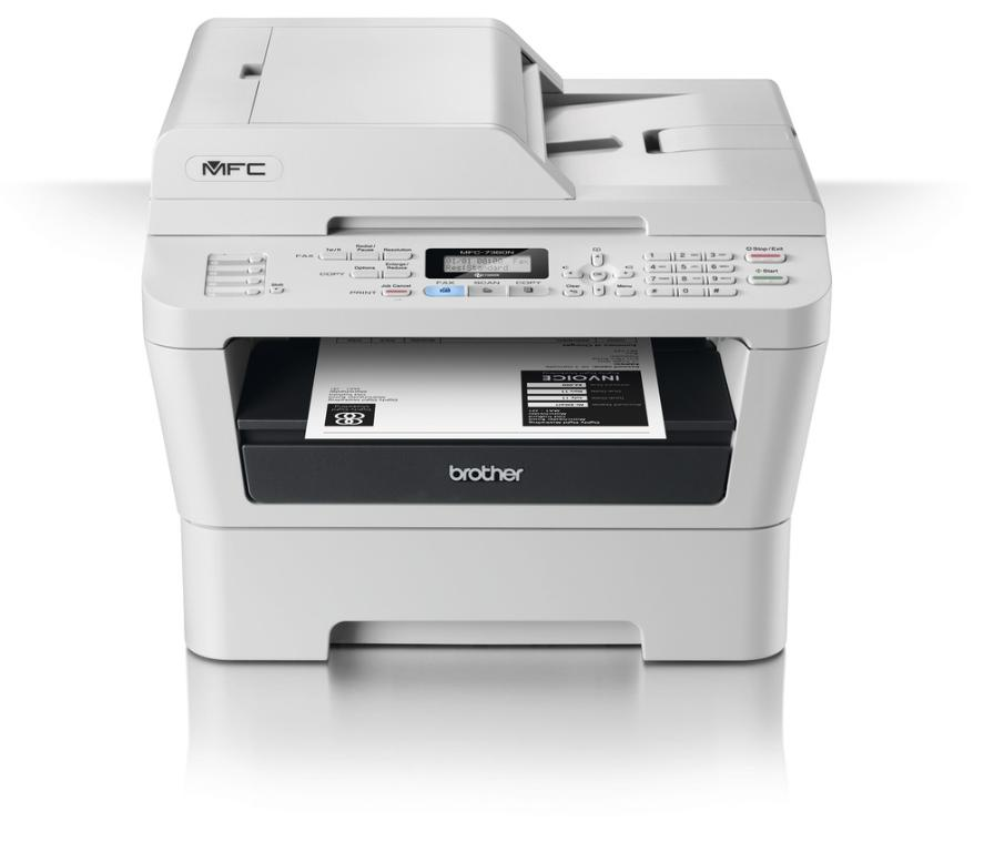 Brother MFC-7360N Mono A4 Laser Multifunction Printer