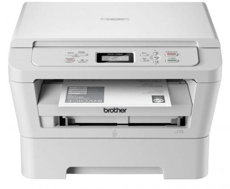 Brother DCP7055 Compact A4 Mono Laser USB All In One Printer