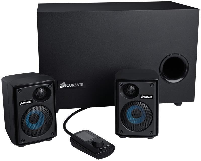 Corsair SP2500 232 Watt 2.1 PC Speaker System