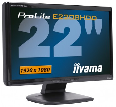 "Iiyama Prolite E2208HDD 22"" Widescreen LCD Display"