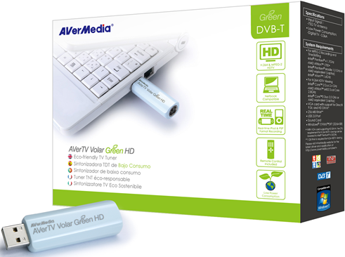AVerMedia AVerTV VOLAR HD 835 Green