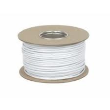 8 Core White Alarm Cable ideal for CCTV low voltage and Electrical Works