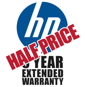 3 Year Collect & Return Warranty For HP Products - HALF PRICE