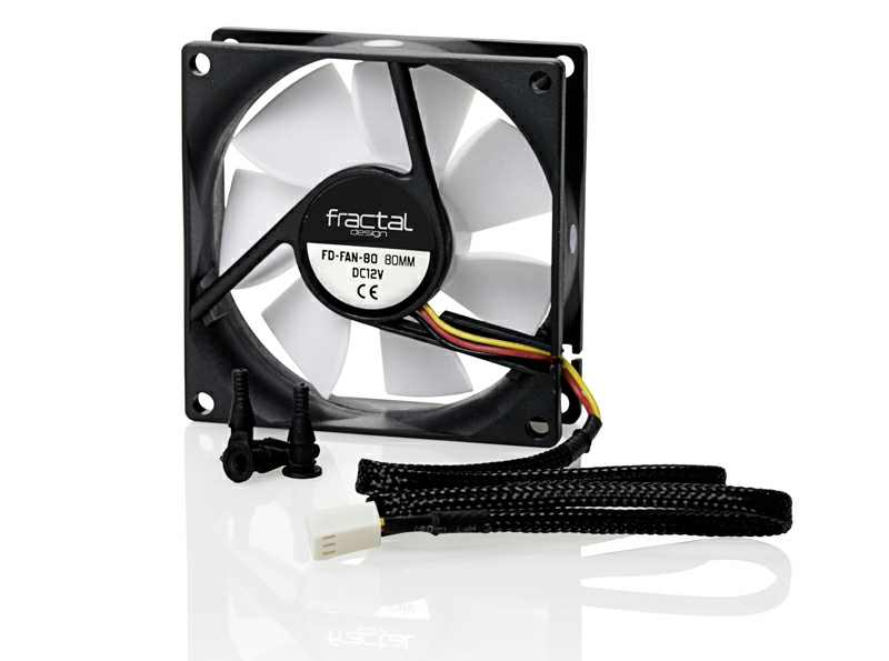 Fractal Design Silent Series 80mm Case Fan