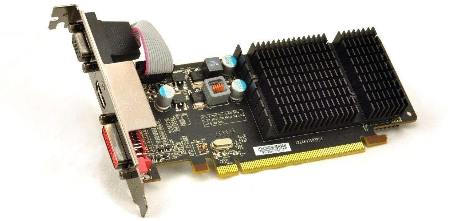 XFX HD-545X-ZCH2 Radeon HD 5450 PCI Express Video Graphics Card