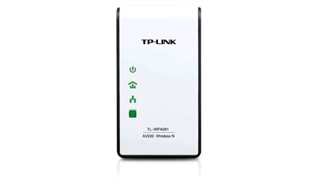 TP-Link TL-WPA281 AV200 300Mbps Wireless N Powerline Extender with Wireless N Access Point (single Unit)