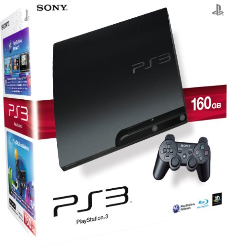 Sony PlayStation 3 PS3 160GB Slim Console