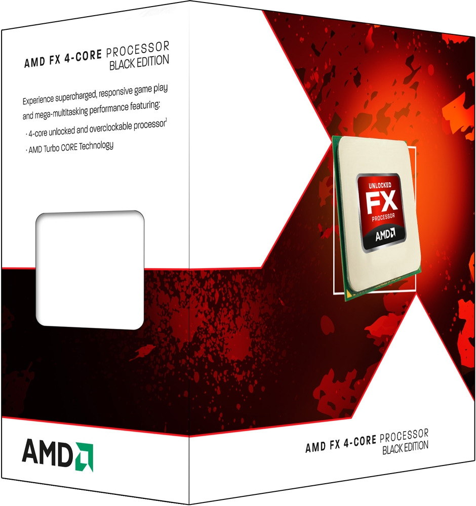 AMD FX-4100 Black Edition Quad Core Socket AM3+ Processor